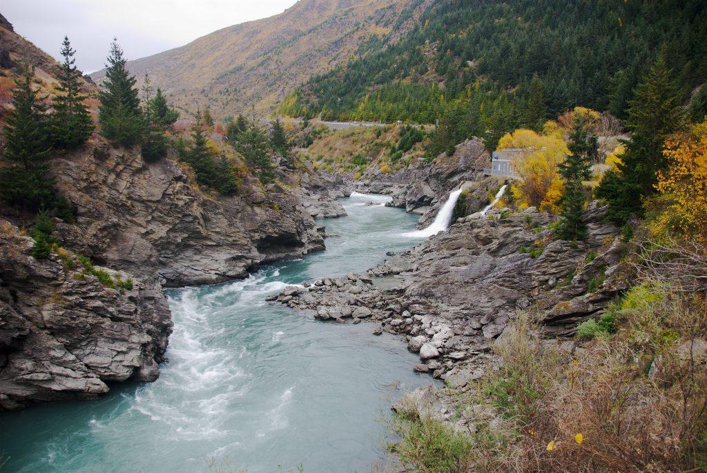 Image of the Kawarau river.